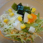沼津 魚がし鮨 - サラダ