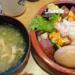 沼津 魚がし鮨 - セットのお椀