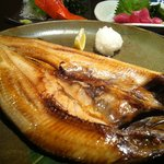 魚や一丁 - 特大縞ほっけ¥780−
