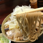堀留屋 - 肉南蛮蕎麦冷し中400g900円