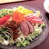 驛亭さつま - 料理写真:冷やしサラダうどん(ランチ)