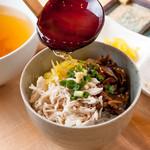 驛亭さつま - 料理写真:鶏飯(朝食)