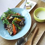 72014860 - 季節野菜と豚ヒレ肉のライス   980円