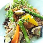 72014863 - 季節野菜の豚ヒレ肉