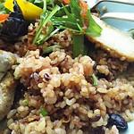 プランタン ブラン - ライスは黒豆入り玄米使用。