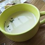 プランタン ブラン - スープはビシソワーズ♪
