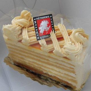 かめやま - 料理写真:キャラメルバタークリームのケーキ