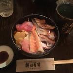 朝日寿司 総本店 - ちらし寿司1,100円