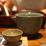 酒盃 - ドリンク写真:雪の茅舎 純米吟醸