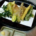 旬味えがわ - 季節野菜天ぷら