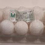ハートなかやま - たまごMサイズ(10個パック) 税抜128円(2017.08.24)