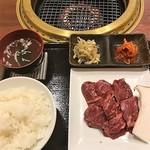 三水苑 - ハラミ焼肉ランチ