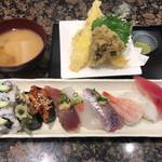 がってん寿司 - 料理写真:天ぷらランチ1188円