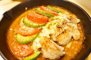 SEAK - アボカド+トマト+チキン
