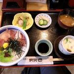 おお田 - 海鮮丼ランチ
