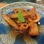 河太郎 - いかと小芋の煮つけ