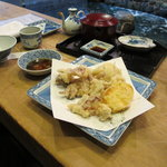 河太郎 - イカの天ぷら