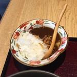 松玄 - 肉そばセット1,000円のミニカレー