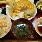 竹酔 - 天婦羅定食
