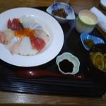 和庵 いっしん - 海鮮丼の定食