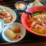 豊龍園  - 料理写真:ユーリンチー定食(台湾ラーメン)