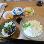 三宅お好み焼店 - 日替わり(550円)2017年8月