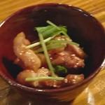蕎麦角ヤ - 焼鳥(ハラミ)