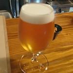 蕎麦角ヤ - 生ビール