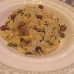 陽明殿 - 高菜とチャーシュー入り炒飯