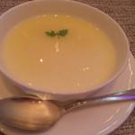 陽明殿 - 杏仁豆腐フルーツソース
