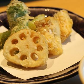 【天ぷら】【炭焼き】を食べずして「たかまる、」は始まらない…