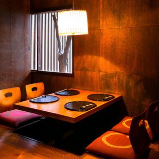 上質な空間でおもてなしプライベート完全個室有