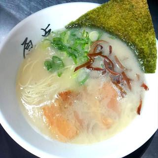 濃厚豚骨スープ!