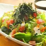 島たいむ がんじゅう - 海人自慢の海鮮サラダ