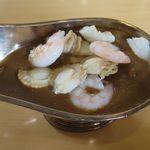 レストラン彩 - シーフードカレーのアップ