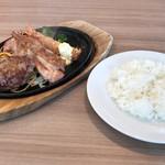 ステーキのどん - 日替わりランチ798円(税込) ※金曜日バージョン