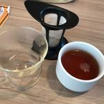 ステーキのどん - 食後の紅茶