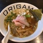 オリガミ - 料理写真:ORIGAMIらーめん