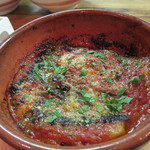 ピッツェリア グランデ - ナスとトマトソースとチーズの重ね焼き。濃厚!