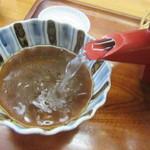 手打ちそば一栄 - 自然体の蕎麦湯