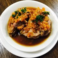 ビーボ デイリー スタンド - 豚すね肉の黒ビール煮込み