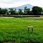 72034781 - ピクニック・鴨川べりの風景