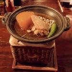 南部藩長屋酒場 - お通しの煮物