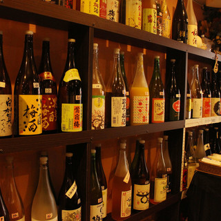 梅酒・焼酎・約100種類が1010円で飲み放題♪