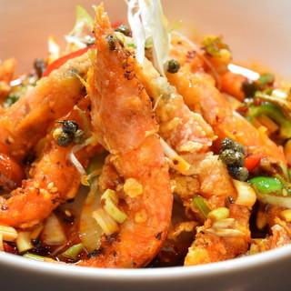 新鮮素材の本格中華料理をリーズナブルにお楽しみください