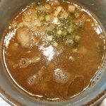 麺匠 呉屋 - つけスープ