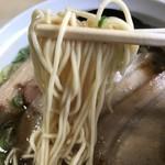 新立麺館 - 中細ストレート麺