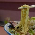 ラーメン藤 - 麺リフト