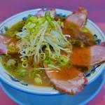 ラーメン藤 - 黒豚ラーメン(1100円)