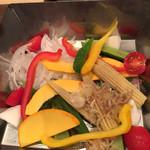 魚菜酒笑 吉 - 旬の野菜サラダ